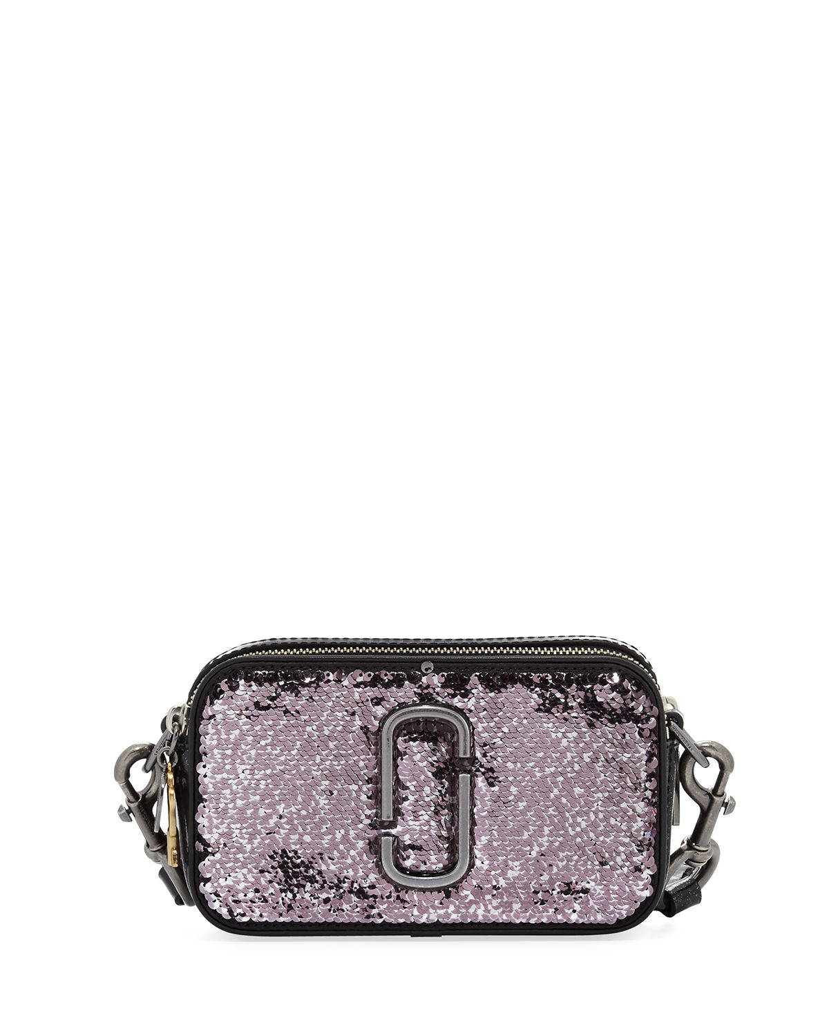 Sequin Snapshot Crossbody Bag