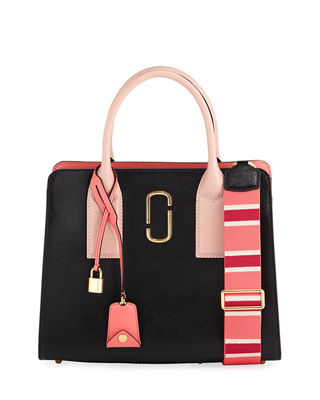 BIG SHOT SAFFIANO LEATHER TOTE BAG from Neiman Marcus