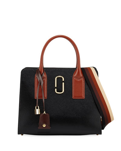 Big Shot Saffiano Leather Tote Bag