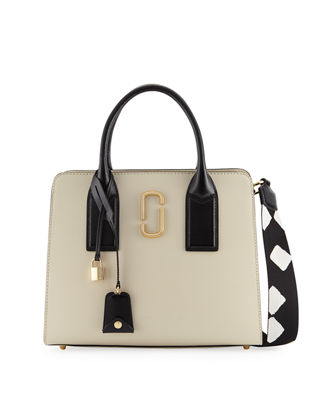 Marc Jacobs Big Shot Saffiano Leather Tote Bag