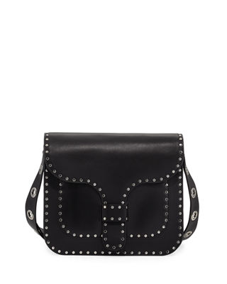 Rebecca Minkoff Midnighter Large Leather Messenger Bag
