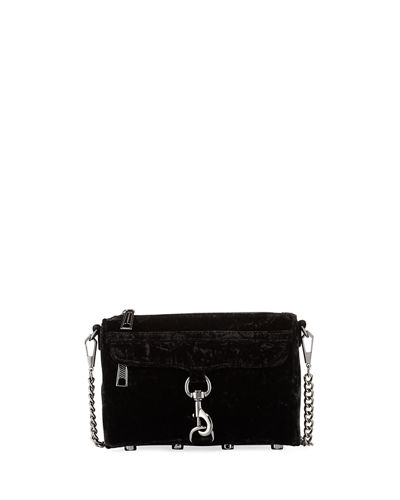 Rebecca Minkoff Mini MAC Velvet Crossbody Bag