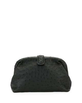 The Lauren 1980 Ostrich Clutch Bag