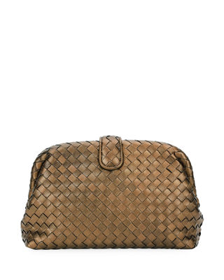 Image 4 of 5: The Lauren 1980 Napa Leather Clutch Bag