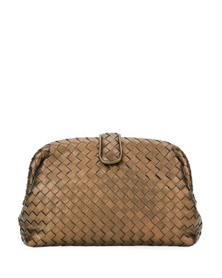 Image 1 of 5: The Lauren 1980 Napa Leather Clutch Bag