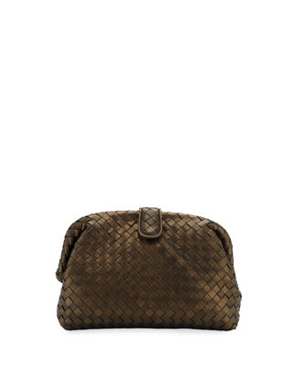 Bottega Veneta The Lauren 1980 Napa Leather Clutch