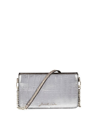 Judith Leiber Couture Signature Crocodile Crossbody Bag