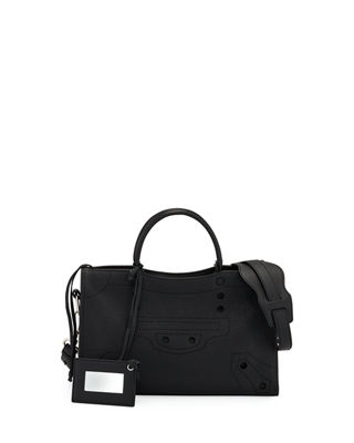 Balenciaga Blackout City Small AJ Tote Bag