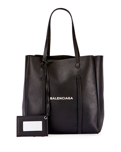Balenciaga Everyday XS Logo Leather Tote Bag