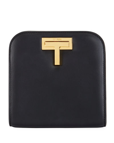 TOM FORD Cosmo Calf Small T Lock Shoulder