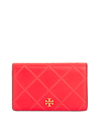 Tory Burch Georgia Medium Slim Snap Wallet