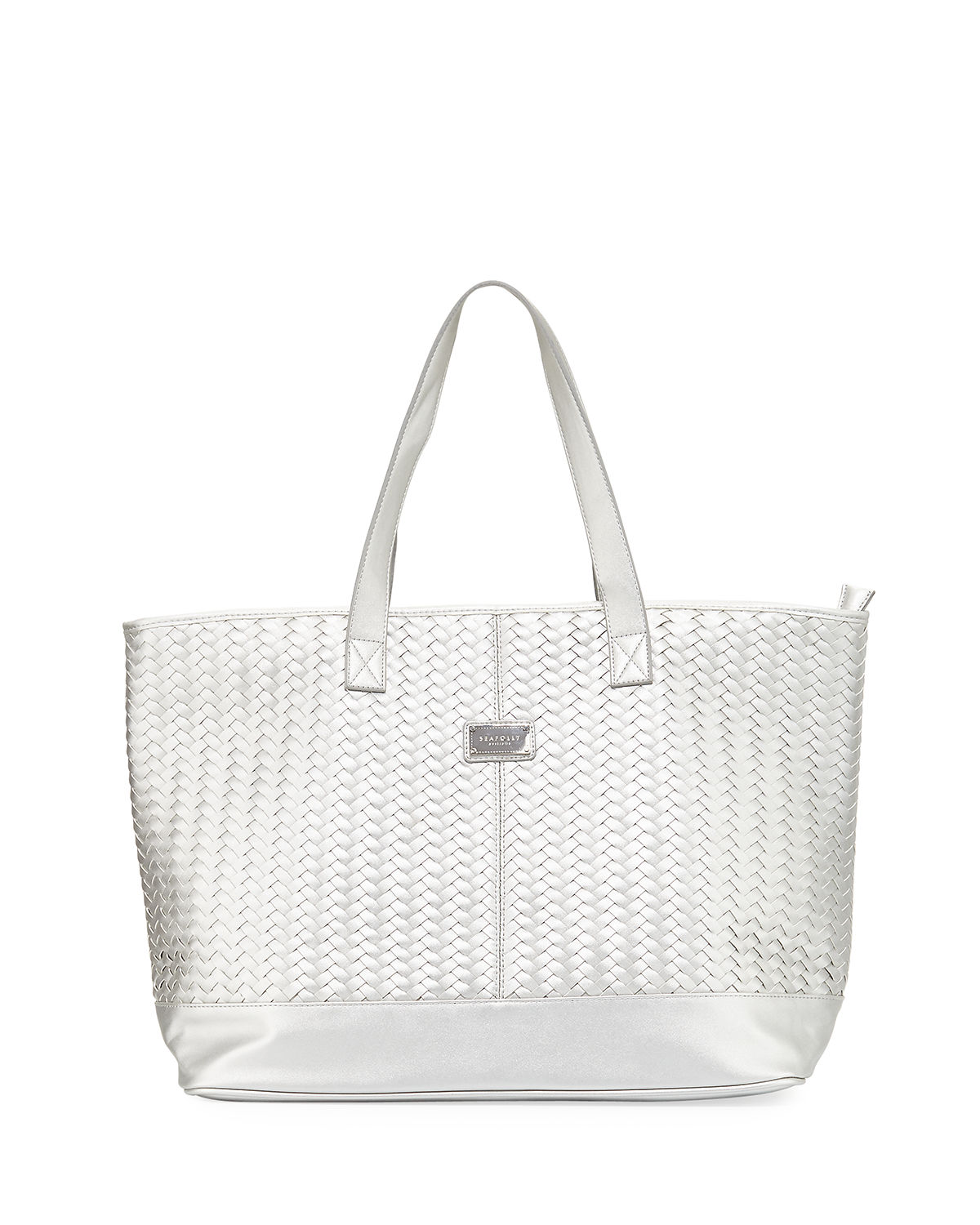 Carried Away Woven Tote Bag