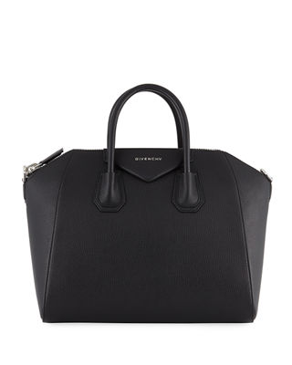 Givenchy Antigona Medium Leather Satchel Bag