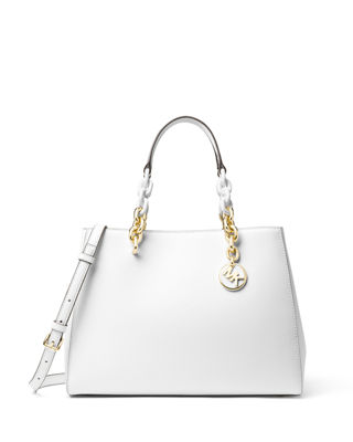 MICHAEL Michael Kors Cynthia Medium Saffiano Satchel Bag