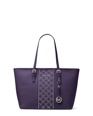 MICHAEL Michael Kors Jet Set Travel Studded Saffiano