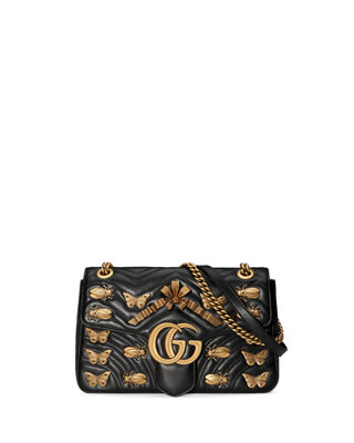 GG Marmont Medium Insect Shoulder Bag