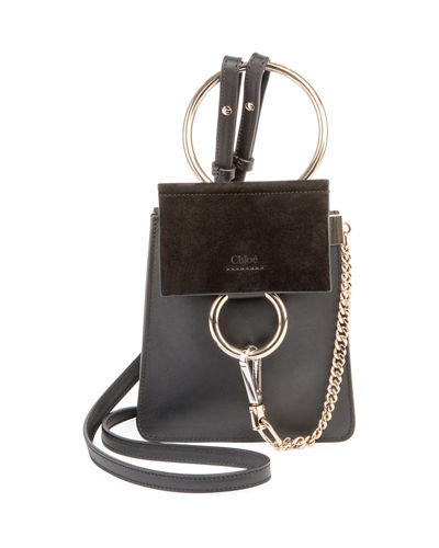 250bd74bfbf1 Quick Look. Chloe · Faye Small Leather Bracelet Bag