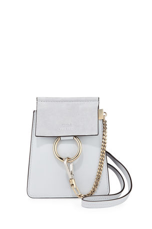 Chloe Faye Small Leather Bracelet Bag