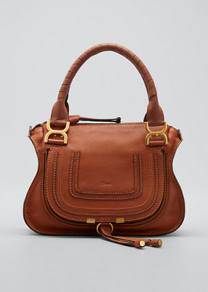 Chloe Marcie Small Double-Carry Satchel Bag 63074daa5d806