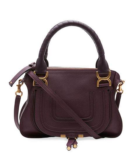 Chloé  MARCIE SMALL DOUBLE-CARRY SATCHEL BAG