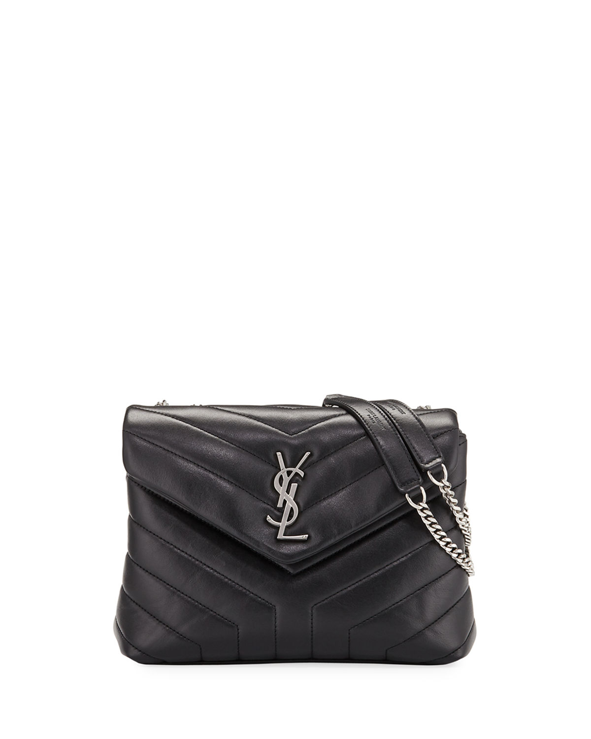 0120ba9cbf6 Saint Laurent Loulou Monogram YSL Small Chain Bag | Neiman Marcus