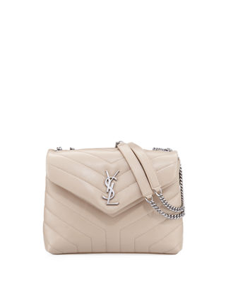 Saint Laurent Loulou Monogram YSL Small Chain Bag