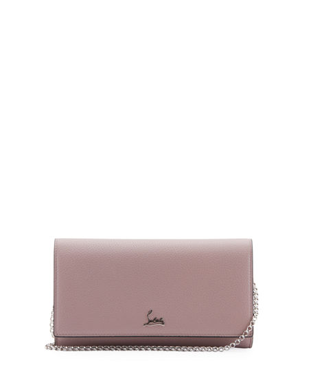 2cd14436f3c Christian Louboutin Boudoir Leather Wallet-on-Chain