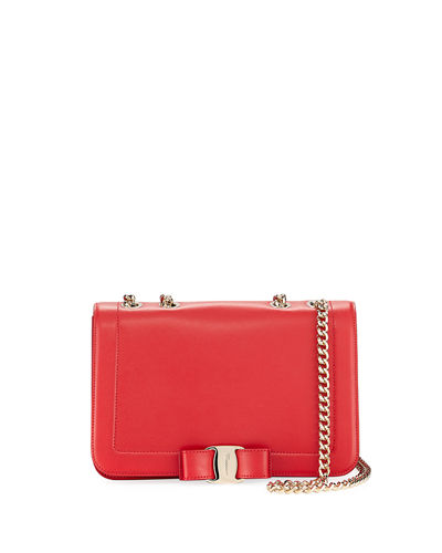Salvatore Ferragamo Vara Medium Rainbow Shoulder Bag