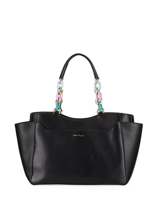 Image 1 of 3: Large Lianne Tote Bag