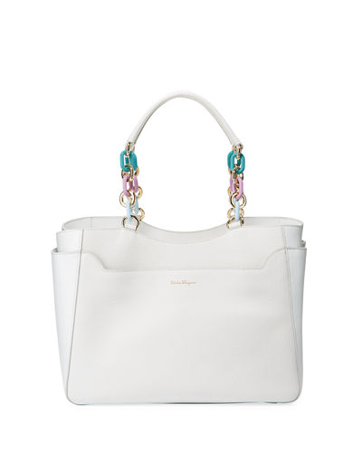 Salvatore Ferragamo Large Lianne Tote Bag