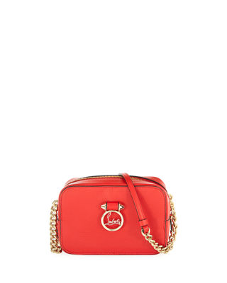 Christian Louboutin Rubylou Mini Denim Shoulder Bag fwtqY7dK