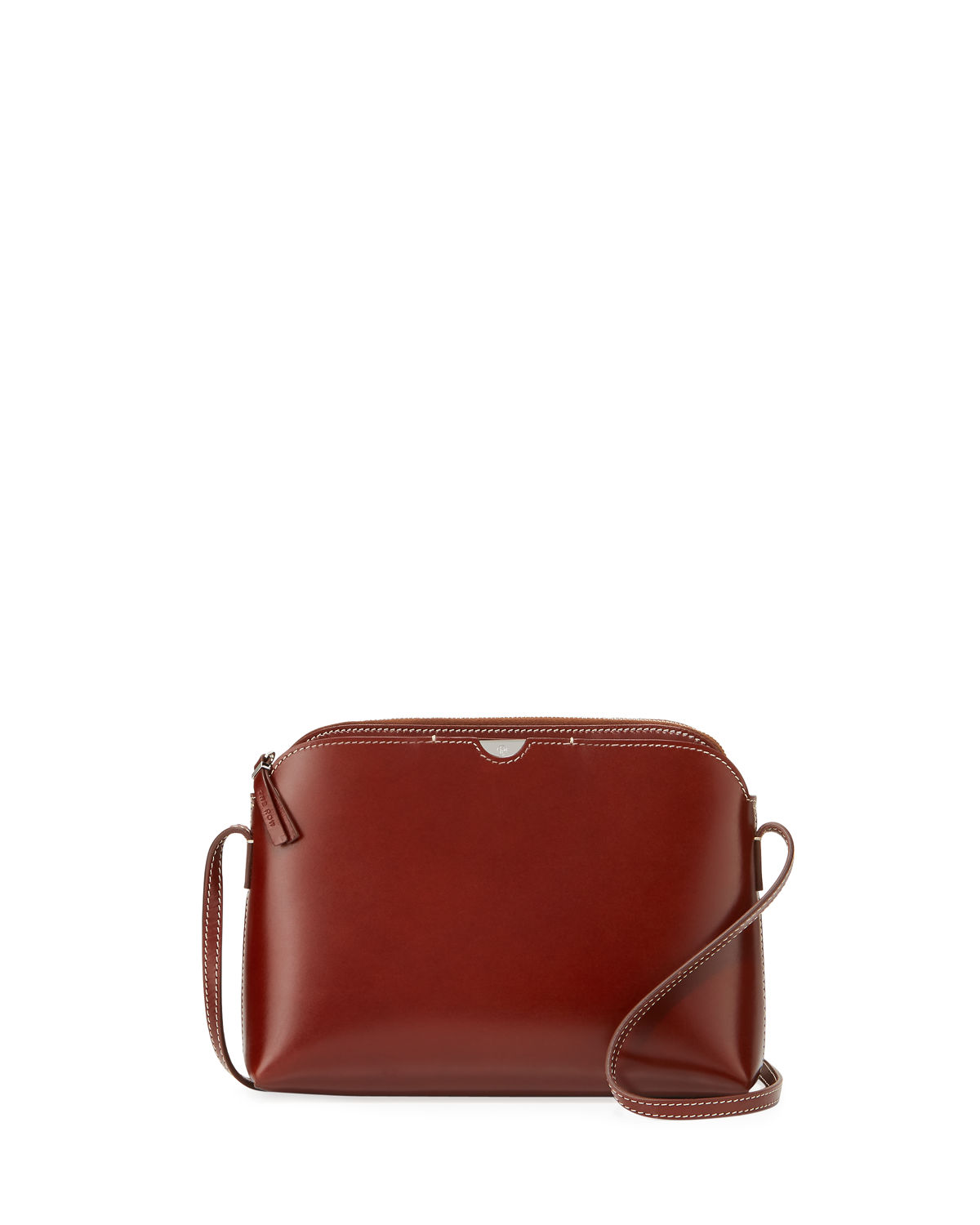 Multi Pouch Leather Shoulder Bag