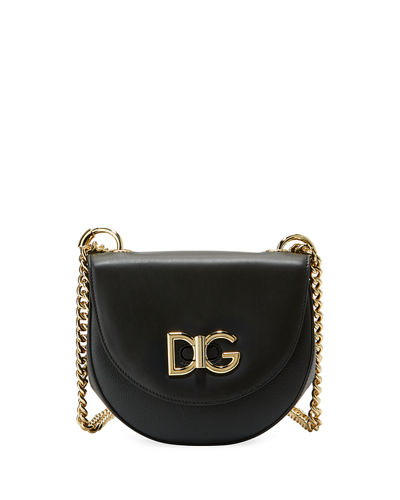 Dolce & Gabbana Wifi Calf Leather Shoulder Bag