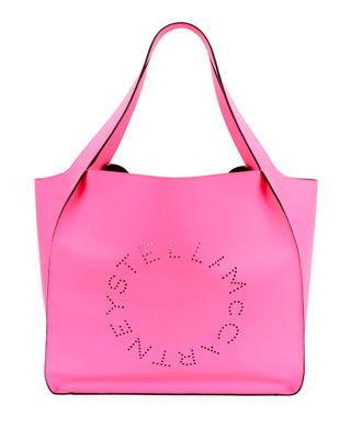 Fluorescent Perforated Tote Bag