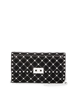 Image 1 of 4: Free Rockstud Spike Small Quilted Shoulder Bag