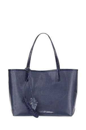 Nancy Gonzalez Erica Medium Linen Leaf Tote Bag