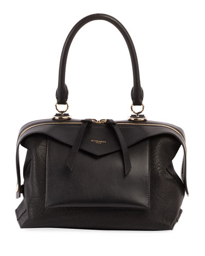 Sway Small Leather Top-Handle Bag