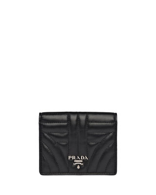 Prada Diagramme French Wallet
