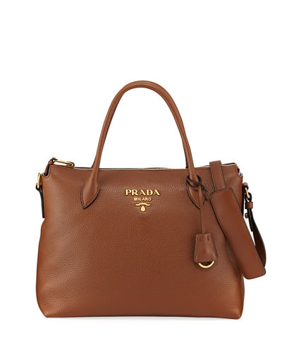 Daino Medium Leather Tote Bag
