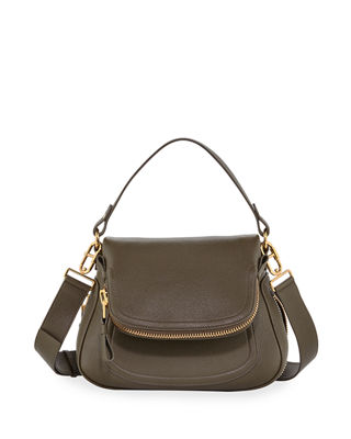 Jennifer Medium Leather Shoulder Bag