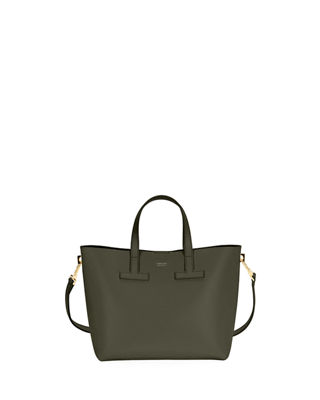 T Tote Mini Saffiano Crossbody Bag