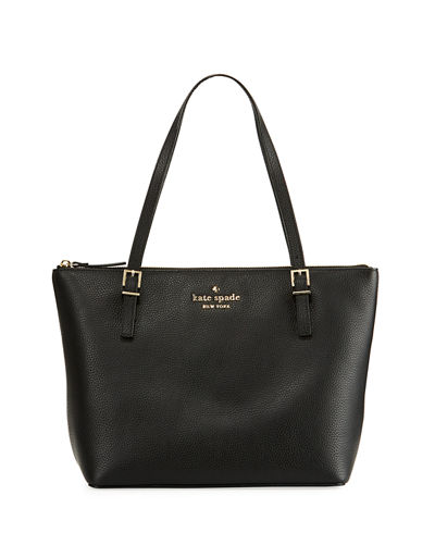 watson lane maya small leather tote bag