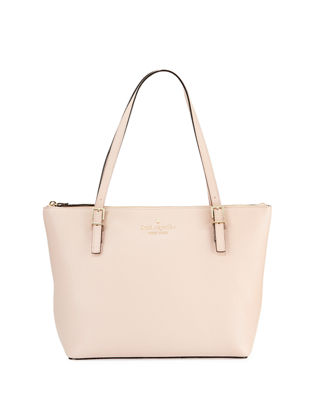 kate spade new york watson lane maya small leather tote bag