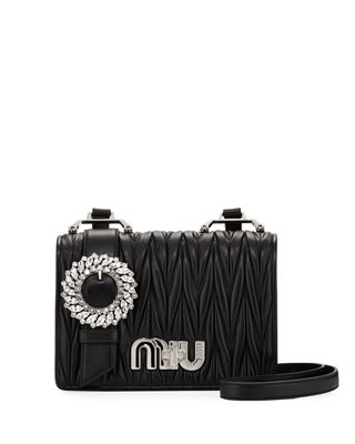 My Miu Matelasse Shoulder Bag