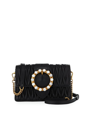 Miu Miu Lady Mini Matelassé Crossbody Bag