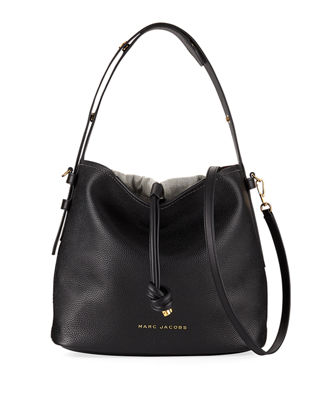 Marc Jacobs Pebbled Leather Hobo Bag