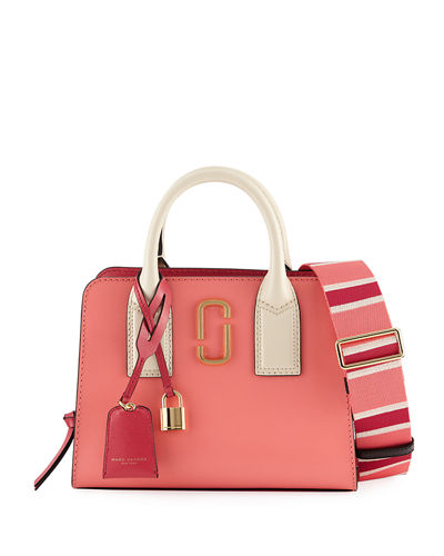 Little Big Shot Saffiano Tote Bag