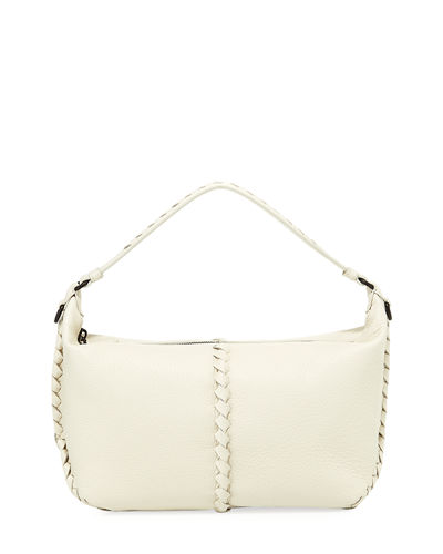 Cervo Medium Leather Shoulder Hobo Bag