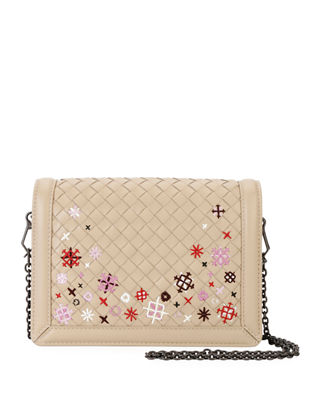 Bottega Veneta Mini Montebello Meadow Flower Clutch Bag