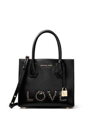 MICHAEL Michael Kors Mercer Medium Love Polished Tote